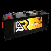 Аккумулятор ROJER Premium series 6ст-190 п.п. плоский конус