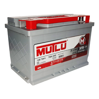 Аккумулятор MUTLU SFB 6ст-75 А/ч пп  720A  L3.75.072.B