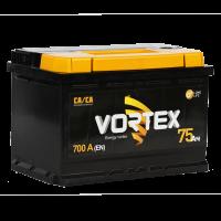 Аккумулятор VORTEX 6СТ-75 Аз пп