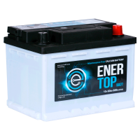 Аккумулятор  ENERTOP Korea 6ст-60 оп  (56077) низкий