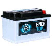 Аккумулятор  ENERTOP Korea 6ст-74 оп  (57539) низкий