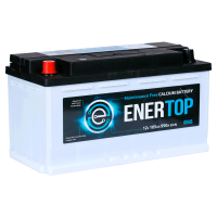 Аккумулятор  ENERTOP Korea 6ст-105 пп (61045)