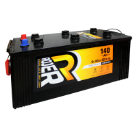 Аккумулятор ROJER Premium series 6ст-140 о.п. низкий плоский конус