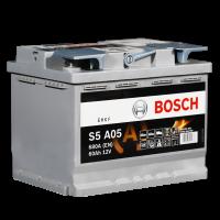 Аккумулятор BOSCH S5 A05 AGM 60 А/ч о.п. (560 901)