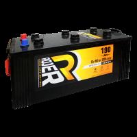 Аккумулятор ROJER Premium series 6ст-190 о.п. плоский конус