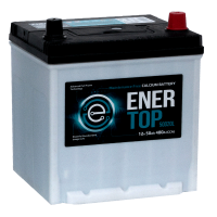 Аккумулятор ENERTOP 6ст-50 оп  (50D20L)  яп. стандарт