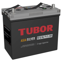 Аккумулятор TUBOR ASIA SILVER 6СТ-57.0 VL   ST