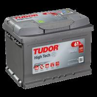 Аккумулятор  TUDOR High-Tech 6ст-61 А/ч  оп  низкая  600A  TA612