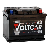 Аккумулятор VOLTCAR Classic 6ст-62 (0)