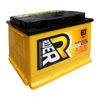 Аккумулятор ROJER Premium series 6ст-62 о.п.