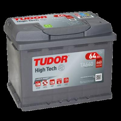 Аккумулятор  TUDOR High-Tech 6ст-64 А/ч  оп  640A  TA640