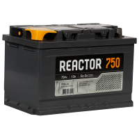 Аккумулятор REACTOR  6ст-75 VL  рос.
