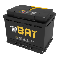 Аккумулятор TOPBAT 6СТ-75.1 L