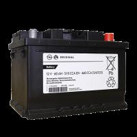 Аккумулятор  GM STANDARD 6ст-60 А/ч оп  низкая 95523432