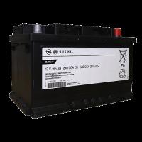 Аккумулятор  GM STANDARD 6ст-65 А/ч оп  низкая 95527531