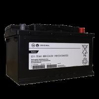 Аккумулятор  GM STANDARD 6ст-70 А/ч оп  низкая 95519152