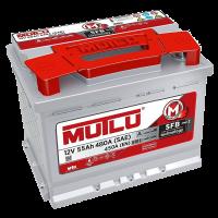 Аккумулятор MUTLU SFB 6ст-55 А/ч оп  450A  L2.55.045.A