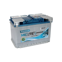 Аккумулятор MEXTEX Premium 6СТ-70 L (R)
