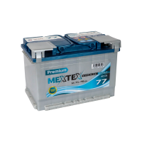 Аккумулятор MEXTEX Premium 6СТ-77 L