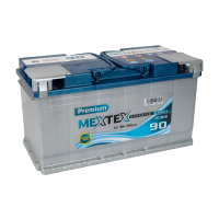 Аккумулятор MEXTEX Premium 6СТ-90 L (R)