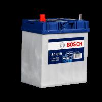 Аккумулятор BOSCH S40 190 40 А/ч п.п. яп. (540 127) тонкие ASIA