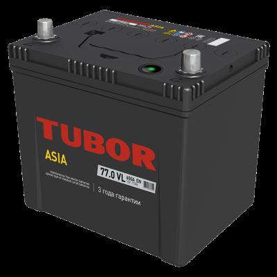 Аккумулятор TUBOR ASIA  6СТ-77.0 VL B01