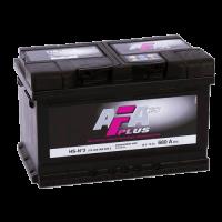 Аккумулятор  AFA PLUS 6ст-72 А/ч  оп  680A  572 409 068  низкая