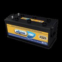 Аккумулятор АКОМ  6СТ-190 VL  евро