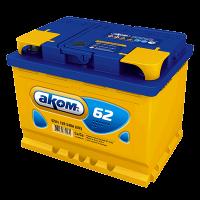 Аккумулятор АКОМ  6ст-62 VL  евро