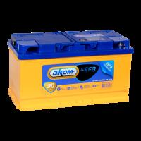 Аккумулятор АКОМ + EFB  6СТ- 90 евро