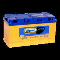 Аккумулятор АКОМ + EFB  6СТ- 90 рос