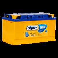 Аккумулятор  АКОМ  6ст-100 VL  евро