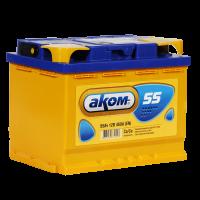 Аккумулятор АКОМ  6ст-55 VL  евро