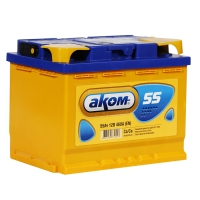 Аккумулятор АКОМ  6ст-55 VL  рос.