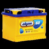 Аккумулятор  АКОМ 6ст-60 VL  рос.