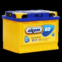 Аккумулятор АКОМ 6ст-60 VL  евро