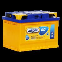 Аккумулятор АКОМ 6ст-60 VL  евро низкий