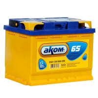 Аккумулятор АКОМ  6ст-65 VL  евро