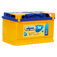 Аккумулятор АКОМ  6ст-74 VL  евро низкий
