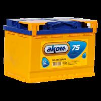 Аккумулятор  АКОМ  6ст-75 VL  евро