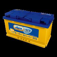 Аккумулятор АКОМ + EFB  6СТ- 100 евро
