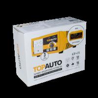 Автомат. предпусковое зарядное устройство ТОП АВТО АЗУ-415 (15А, для 12В-АКБ до 200 А*ч, стрелоч.инд)