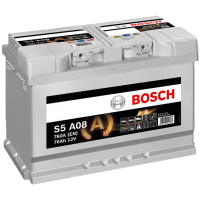 Аккумулятор BOSCH S5 A08 AGM 70 А/ч о.п. (570 901)