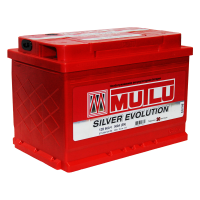 Аккумулятор MUTLU EVOLUTION  6СТ- 66 оп