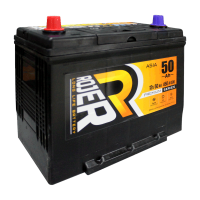 Аккумулятор ROGER ASIA 6ст-50 п.п. тонкие клемы
