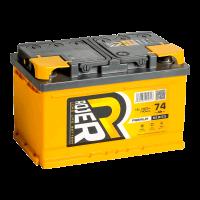 Аккумулятор ROJER Premium series 6ст-74 (0) евро низкий