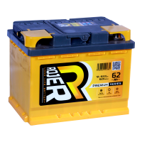 Аккумулятор ROJER Premium series 6ст-62 (1) рос
