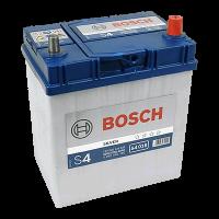 Аккумулятор BOSCH S40 180 40 А/ч о.п. яп. (540 126) тонкие ASIA