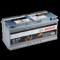 Аккумулятор BOSCH S5 A15 AGM 105 А/ч о.п. (605 901)