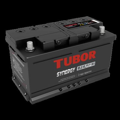 Аккумулятор TUBOR SYNERGY 6СТ-85.0 VL (низкая)